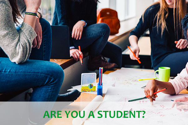 Are you a student?