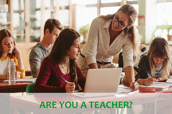 Are you a teacher?